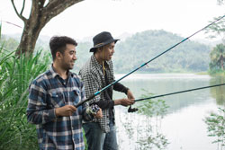 When did Fishing Become a Leisurely Sport