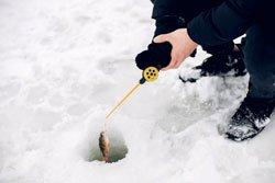 When did People Start Ice Fishing
