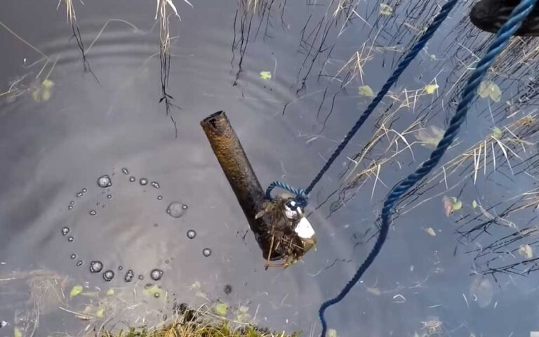 people find the most astounding items while magnet fishing
