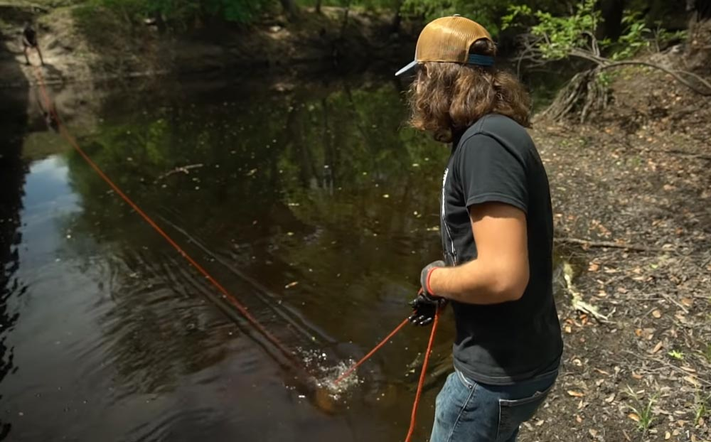 Pulling Force of Magnet Fishing